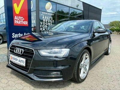 brugt Audi A4 TDi 136 S-line