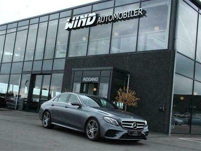 brugt Mercedes E220 2,0 D AMG Line 9G-Tronic 194HK