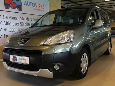 usata Peugeot Partner 1,6 HDI Tepee Comfort Plus 75HK