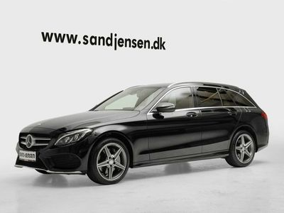 brugt Mercedes C400 3,0 AMG Line stc. aut. 4-M