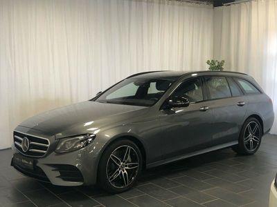 brugt Mercedes E350 3,0 AMG Line stc. aut.