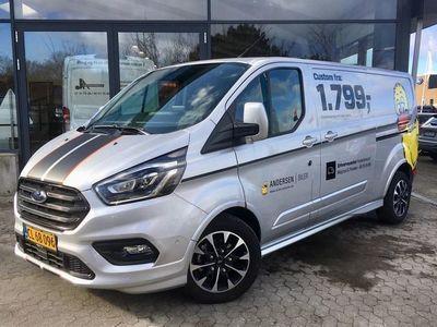 brugt Ford Custom Transit320 L2H1 2,0 TDCi Sport 185HK Van 6g Aut.