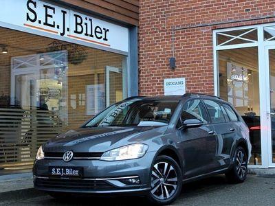 brugt VW Golf VII 1,6 TDi IQ.Drive Variant DSG 115HK aut 5d