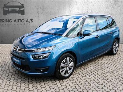 brugt Citroën Grand C4 Picasso 2,0 Blue HDi Intensive 150HK 6g - Personbil - blåmetal - 7 pers.