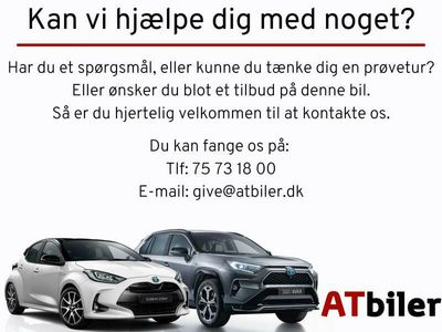 brugt Toyota Auris 1,8 VVT-I H2+ E-CVT 136HK 5d Aut. A++