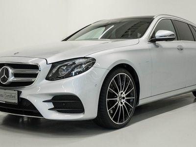 brugt Mercedes E250 AMG Line stc. aut. 2017
