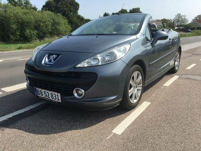 brugt Peugeot 207 CC 1,6