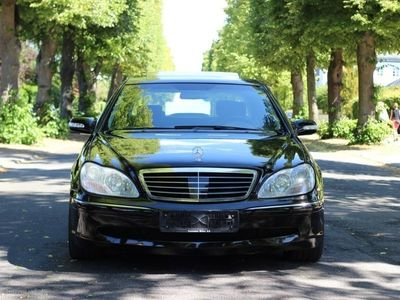 used Mercedes S600 Lang 5,5 500HK Aut.
