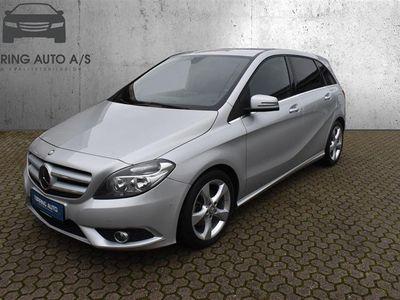 brugt Mercedes B180 1,5 CDI 109HK 6g - Personbil - Sølvmetal