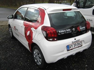 brugt Peugeot 108 1081,0 e-Vti Active 69HK 5d