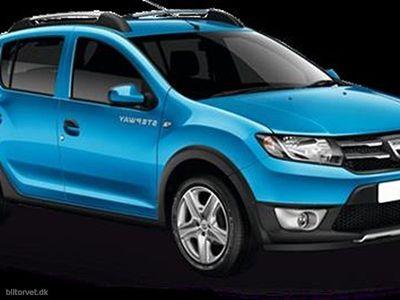 used Dacia Sandero 0,9 Tce Stepway Start/Stop Easy-R 90HK 5d Aut.