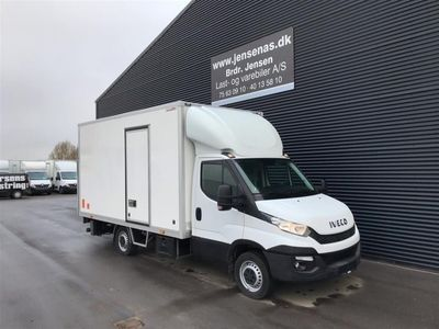 brugt Iveco Daily 35S15 Alukasse m. lift 2,3 D 146HK Ladv./Chas. 2016