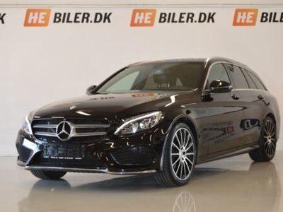 brugt Mercedes C250 d AMG Line stc. aut.