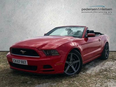 brugt Ford Mustang 2,3 EcoBoost 317HK Cabr. 6g Aut.