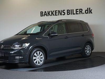 brugt VW Touran 1,6 TDi 115 Comfortline DSG 7prs