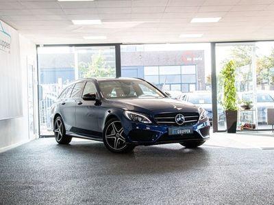 brugt Mercedes C220 d 2,2 AMG Line aut. 4-M