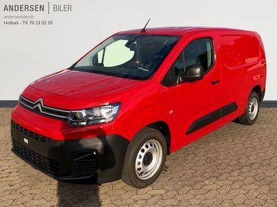 brugt Citroën Berlingo L2 1,5 Blue HDi Proffline+ start/stop 100HK Van