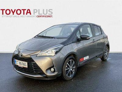 brugt Toyota Yaris 1,5 VVT-I T2 Limited Premium 111HK 5d 6g A