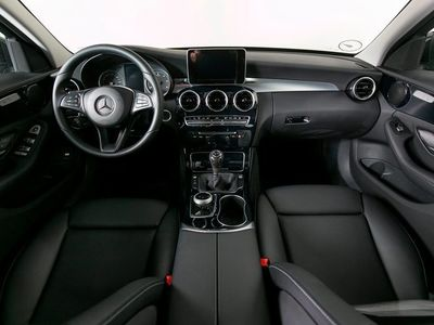 brugt Mercedes C220 d 2,2 AMG Line st.car
