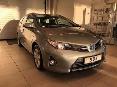 brugt Toyota Auris 1,8 VVT-I H2+ E-CVT 136HK Stc Aut.