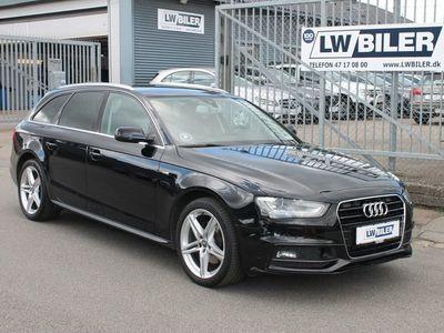brugt Audi A4 2,0 TDi 177 S-line Avant