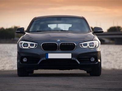 brugt BMW 118 d 2,0 D 150HK 5d 6g - Personbil - sort