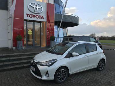 brugt Toyota Yaris 1,3 VVT-I T2 Premium Multidrive S 100HK 5d 6g Aut.