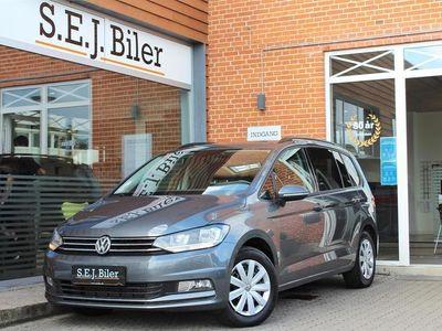 brugt VW Touran 7 Sæder 2,0 TDI BMT SCR Comfortline 150HK 6g A