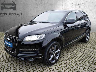 brugt Audi Q7 3,0 TDI Quattro Tiptr. 245HK 5d 7g Aut. - Personbil - Sort - 7 pers.