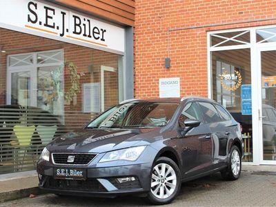 brugt Seat Leon Sportstourer 1,6 TDI Style DSG 115HK Stc 7g Aut. A+