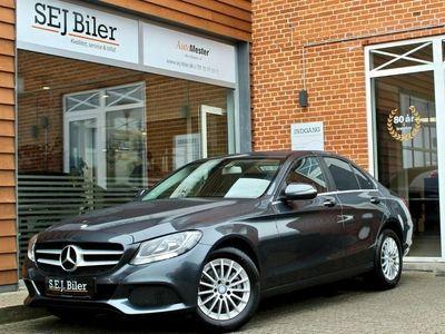 brugt Mercedes C200 d 2,1 136HK aut 4d