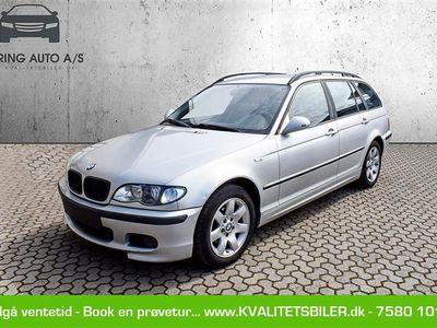 brugt BMW 318 d Touring 2,0 D 116HK Stc - Personbil - sølvmetal