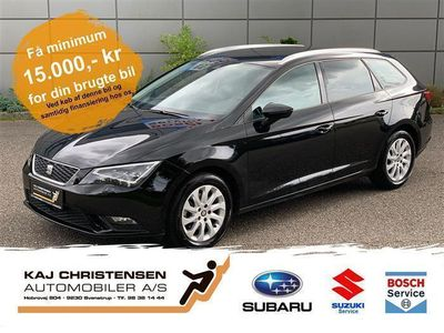 brugt Seat Leon 1,6 TDI Style Start/Stop DSG 110HK Stc 7g Aut.