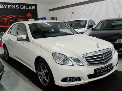 brugt Mercedes E220 2,2 CDI BlueEfficiency 170HK Aut.