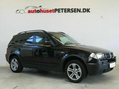 brugt BMW X3 3,0 D Steptr.