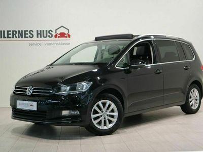 brugt VW Touran 1,6 TDi 110 Highline DSG