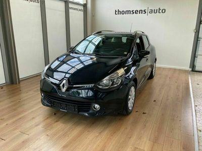 brugt Renault Clio IV 1,5 dCi 75 Expression Navi Style Sport Tourer