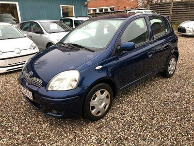 brugt Toyota Yaris 1,3 Blue