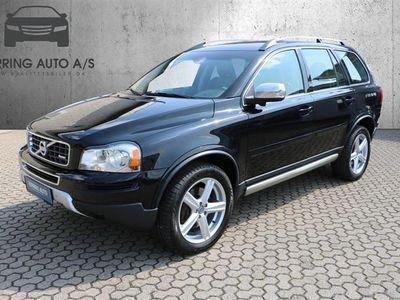 brugt Volvo XC90 2,4 D5 R-design 4x4 200HK 5d 6g Aut. - Personbil - sortmet - 7 pers.