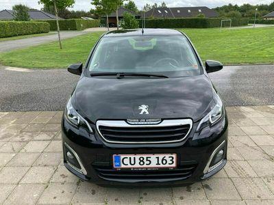 brugt Peugeot 108 e-VTi 72 5D | Allure+
