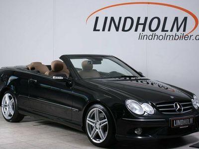 usado Mercedes CLK500 5,5 Cabriolet Avantgarde aut.