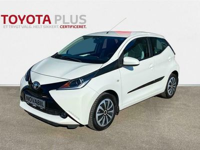 brugt Toyota Aygo 1,0 VVT-I X-Play + Touch 69HK 5d A++