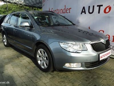 brugt Skoda Superb Combi 1,6 Commonrail DPF Ambition 105HK Stc
