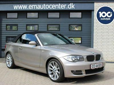 brugt BMW 118 Cabriolet i 2,0