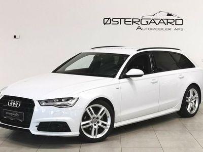brugt Audi A6 2,0 TDi 190 S-line+ Avant quat Str