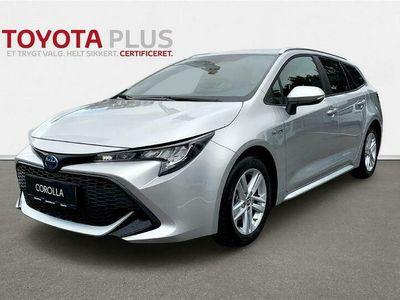 brugt Toyota Corolla Touring Sports 1,8 Hybrid Active Smart E-CVT 122HK Stc Trinl. Gear