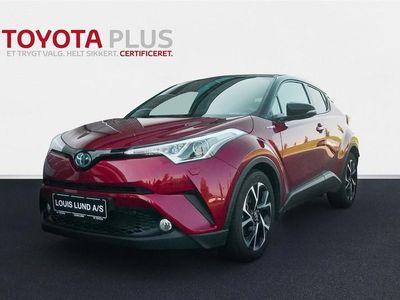 brugt Toyota C-HR 1,8 B/EL C-LUB Bi-tone Multidrive S 122HK 5d Aut. A+++