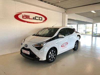 brugt Toyota Aygo 1.0 benzin (72 hk) aut. gear x-shift x-press