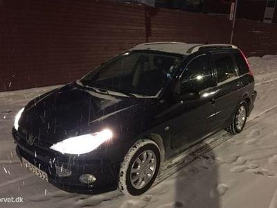 brugt Peugeot 206 SW 1,4 75HK Stc