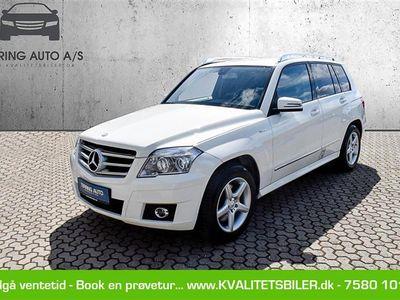 brugt Mercedes GLK220 d 2,2 CDI BlueEfficiency 4-Matic 170HK Van 7g Aut. - Varebil - hvid